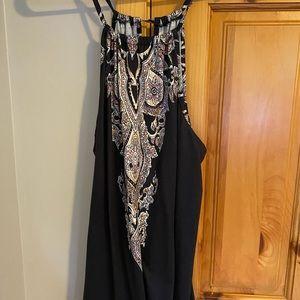 Bandana halter dress